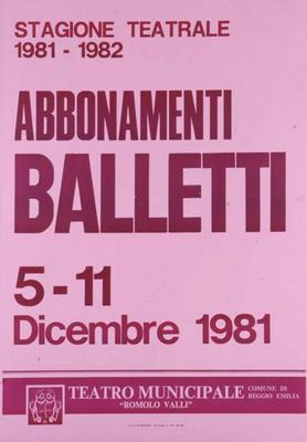 Abbonamenti Balletti