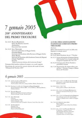 208° Anniversario del primo Tricolore