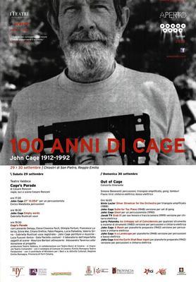 100 anni di Cage