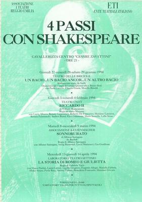 4 Passi con Shakespeare