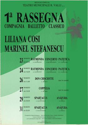 1° Rassegna Compagnia balletto classico Liliana Cosi-Marinel Stefanescu