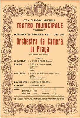 Abbonamenti Stagione Concertistica 1975/1976. 20 incontri musicali